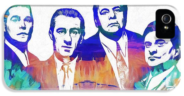 Goodfellas Watercolor IPhone 5 / 5s Case by Dan Sproul