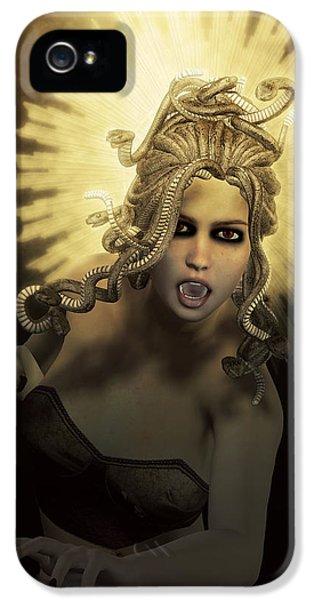 Gorgon Medusa IPhone 5 / 5s Case by Joaquin Abella