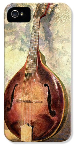 Musical iPhone 5 Cases - Grandaddys Mandolin iPhone 5 Case by Andrew King