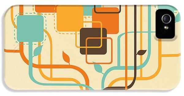 Blank iPhone 5 Cases - Graphic Tree iPhone 5 Case by Setsiri Silapasuwanchai