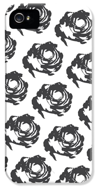Grey Roses IPhone 5 / 5s Case by Cortney Herron