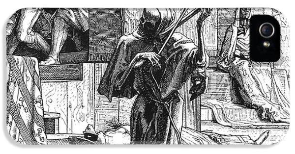 Grim Reaper iPhone 5 Cases - Grim Reaper, 1851 iPhone 5 Case by Granger