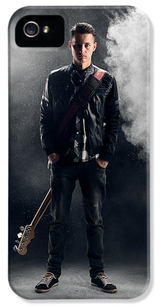 Guitarist IPhone 5 / 5s Case by Johan Swanepoel