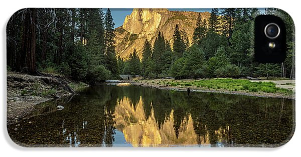 Half Dome From  The Merced IPhone 5 / 5s Case by Peter Tellone