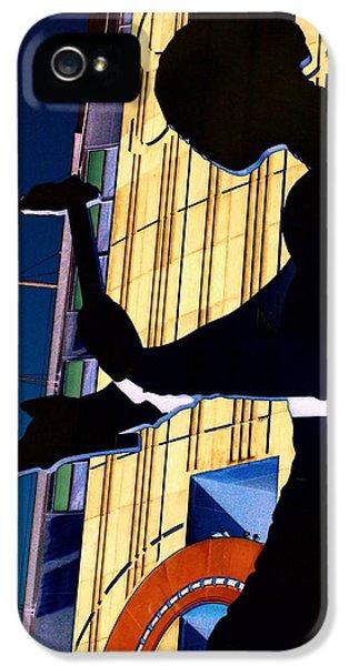 Hammering Man IPhone 5 / 5s Case by Tim Allen