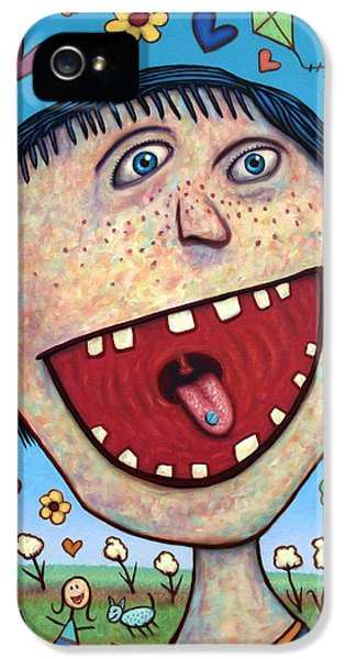 Happy iPhone 5 Cases - Happy Pill iPhone 5 Case by James W Johnson