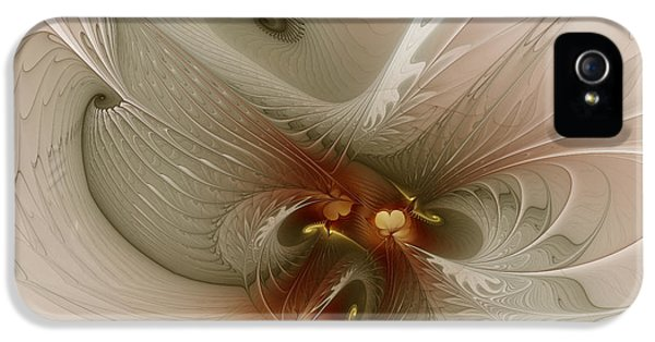 Contemplative iPhone 5 Cases - Harmonius Coexistence iPhone 5 Case by Karin Kuhlmann