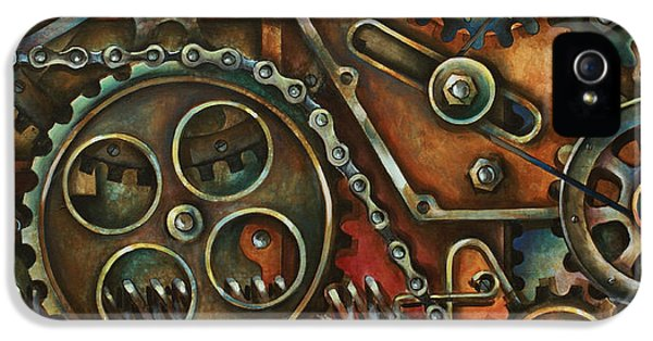 Industrial iPhone 5 Cases - Harmony iPhone 5 Case by Michael Lang
