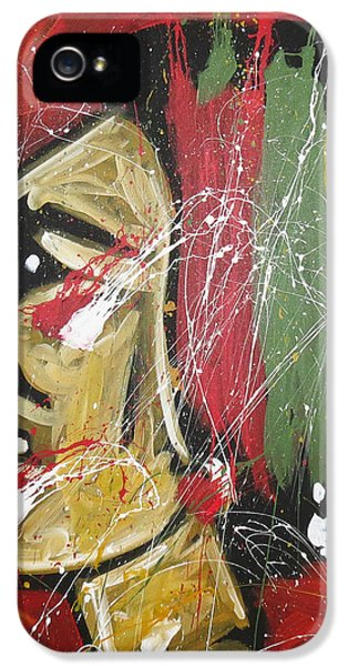 Sport iPhone 5 Cases - Hawks iPhone 5 Case by Elliott From