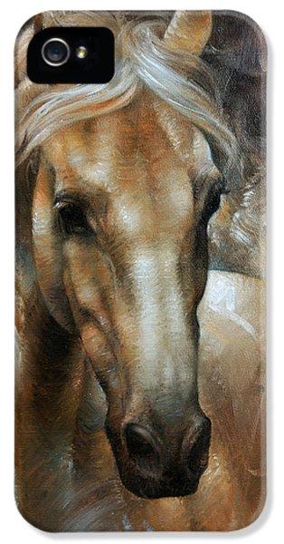 Head Horse 2 IPhone 5 / 5s Case by Arthur Braginsky