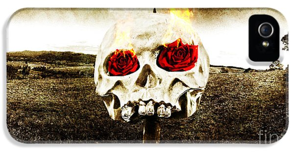 Hellfire Of Love IPhone 5 / 5s Case by Jorgo Photography - Wall Art Gallery