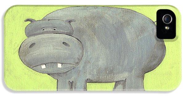 Herbert Hippo Nursery Art IPhone 5 / 5s Case by Katie Carlsruh