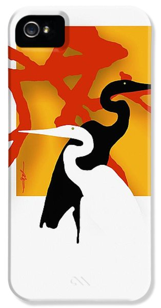 Herons  IPhone 5 / 5s Case by Bob Salo
