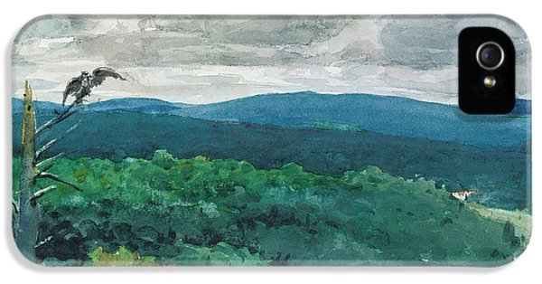 Hilly Landscape IPhone 5 / 5s Case by Winslow Homer