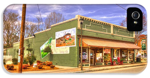 Store Front iPhone 5 Cases - Historic Rutledge Georgia iPhone 5 Case by Reid Callaway