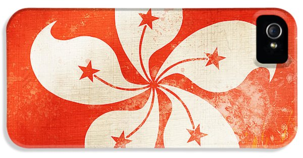 Hong Kong China Flag IPhone 5 / 5s Case by Setsiri Silapasuwanchai
