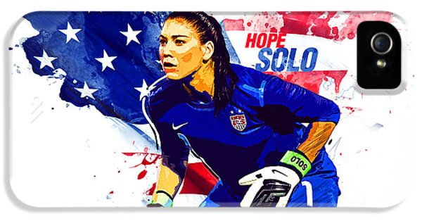 Hope Solo IPhone 5 / 5s Case by Semih Yurdabak