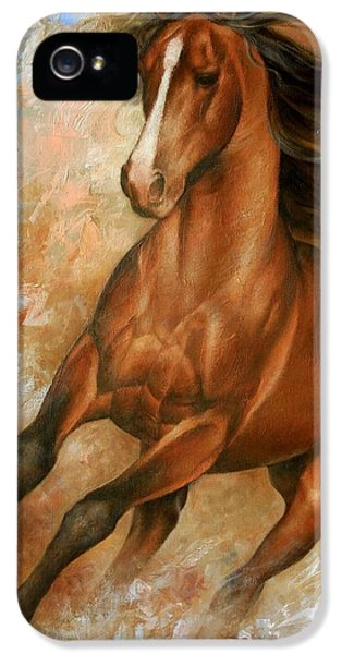 Horse1 IPhone 5 / 5s Case by Arthur Braginsky