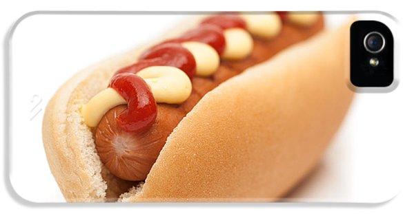 Hot Dog iPhone 5 Cases - Hot Dog iPhone 5 Case by Amanda And Christopher Elwell