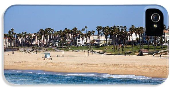 Orange County iPhone 5 Cases - Huntington Beach California iPhone 5 Case by Paul Velgos