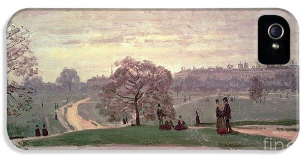 Hyde Park IPhone 5 / 5s Case by Claude Monet