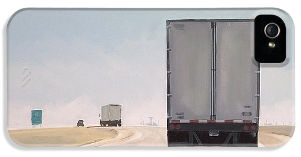 I-55 North 9am IPhone 5 / 5s Case by Jeffrey Bess