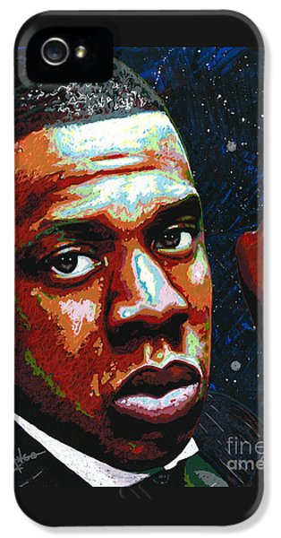 I Am Jay Z IPhone 5 / 5s Case by Maria Arango