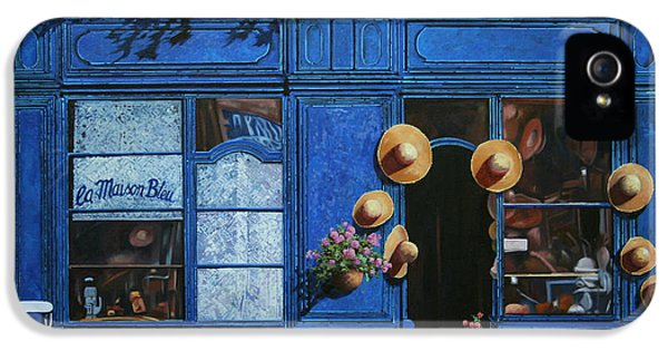 Hat iPhone 5 Cases - I Cappelli Gialli iPhone 5 Case by Guido Borelli