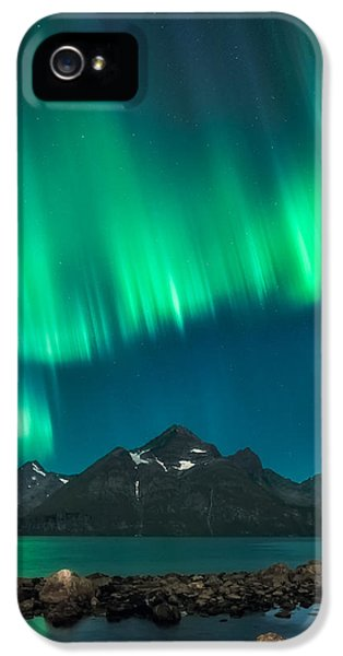 Curtain iPhone 5 Cases - I see fire iPhone 5 Case by Tor-Ivar Naess