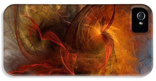 Contemplative iPhone 5 Cases - Ikarus iPhone 5 Case by Karin Kuhlmann