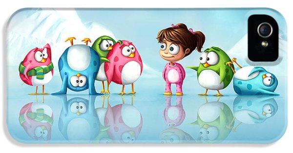 Im A Penguin Too IPhone 5 / 5s Case by Tooshtoosh