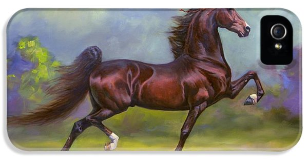Equine iPhone 5 Cases - Imperator iPhone 5 Case by Jeanne Newton Schoborg