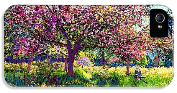 In Love With Spring, Blossom Trees IPhone 5 / 5s Case by Jane Small