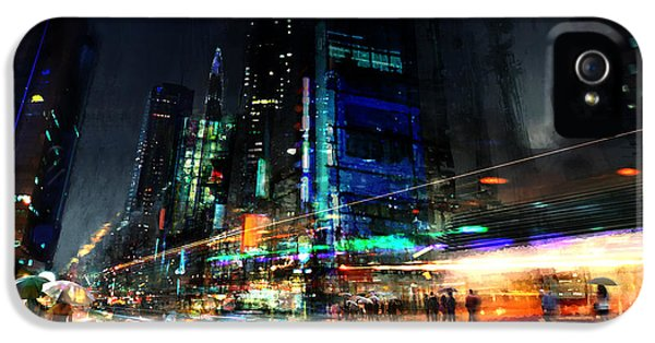 City iPhone 5 Cases - In Motion iPhone 5 Case by Philip Straub