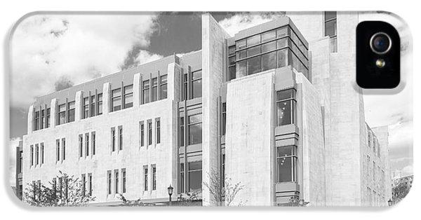 Gi iPhone 5 Cases - Indiana University East Studio Building iPhone 5 Case by University Icons