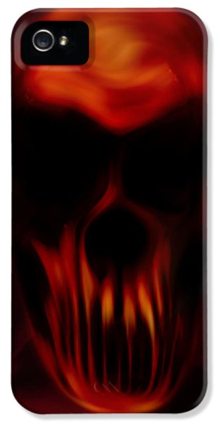 Insanity iPhone 5 Cases - Insanity iPhone 5 Case by Vic Weiford