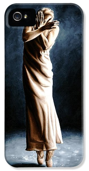Spotlight iPhone 5 Cases - Intense Ballerina iPhone 5 Case by Richard Young