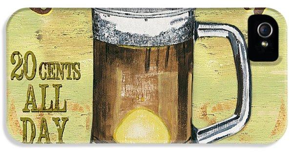 Pub iPhone 5 Cases - Irish Pub iPhone 5 Case by Debbie DeWitt
