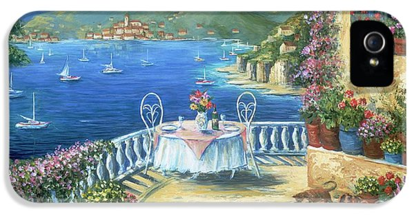 Italian Lunch On The Terrace IPhone 5 / 5s Case by Marilyn Dunlap