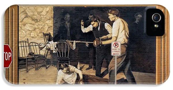 Jack Dempsey In Durango Colorado IPhone 5 / 5s Case by Janice Rae Pariza
