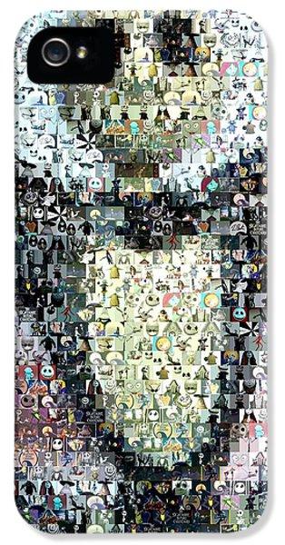 Jack Skellington Mosaic IPhone 5 / 5s Case by Paul Van Scott