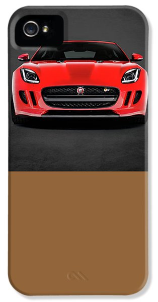 Muscle Car iPhone 5 Cases - Jaguar F Type iPhone 5 Case by Mark Rogan