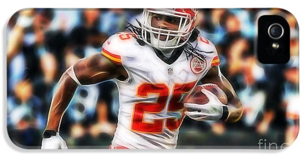 Jamaal Charles Collection IPhone 5 / 5s Case by Marvin Blaine