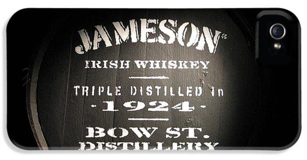 Irish iPhone 5 Cases - Jameson iPhone 5 Case by Kelly Mezzapelle