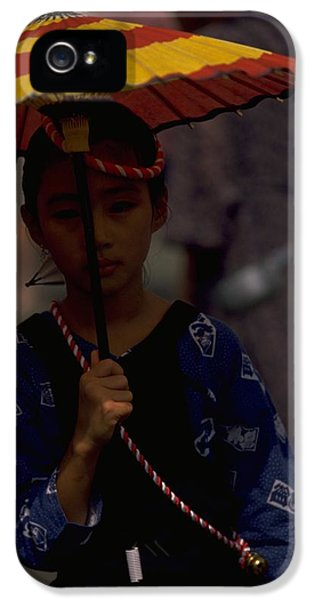 IPhone 5 / 5s Case featuring the photograph Japanese Girl by Travel Pics