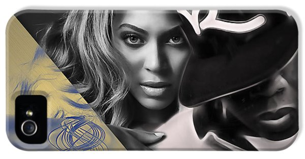 Jay Z Beyonce Collection IPhone 5 / 5s Case by Marvin Blaine