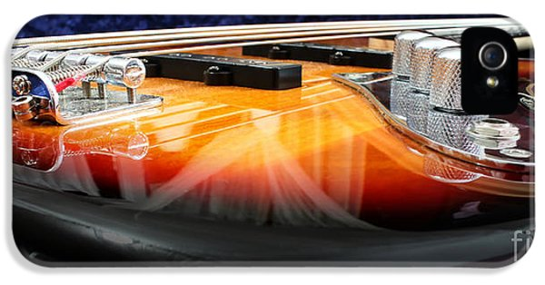 Fish iPhone 5 Cases - Jazz Bass Beauty iPhone 5 Case by Todd A Blanchard