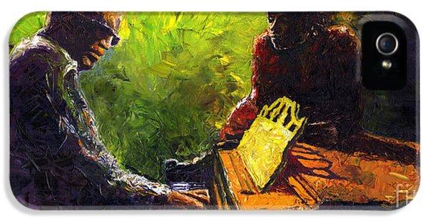 Jazz Ray Duet IPhone 5 / 5s Case by Yuriy  Shevchuk