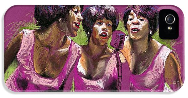 Trio iPhone 5 Cases - Jazz Trio iPhone 5 Case by Yuriy  Shevchuk