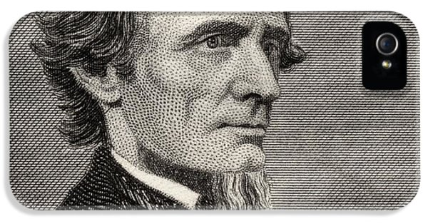 Jefferson Davis,1808-1889. First And IPhone 5 / 5s Case by Vintage Design Pics